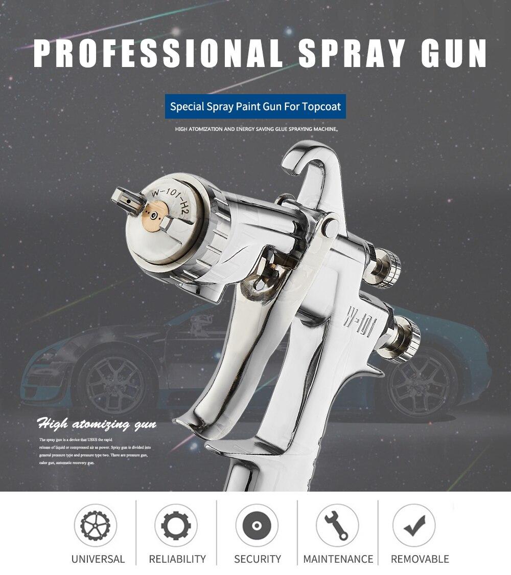 5 1 Spray Car Airbrush 8 W Hand For Pneumatic 101 0 Gun 0 Gun 8mm 1 W101 3 Manual WENXING 1 1 Painting