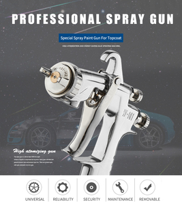 Image 2 - WENXING paint gun W101 air spray gun hand manual spray gun,0.8/1.0/1.3/1.5/1.8mm Japan quality, w 101 paint Sprayer 400CC