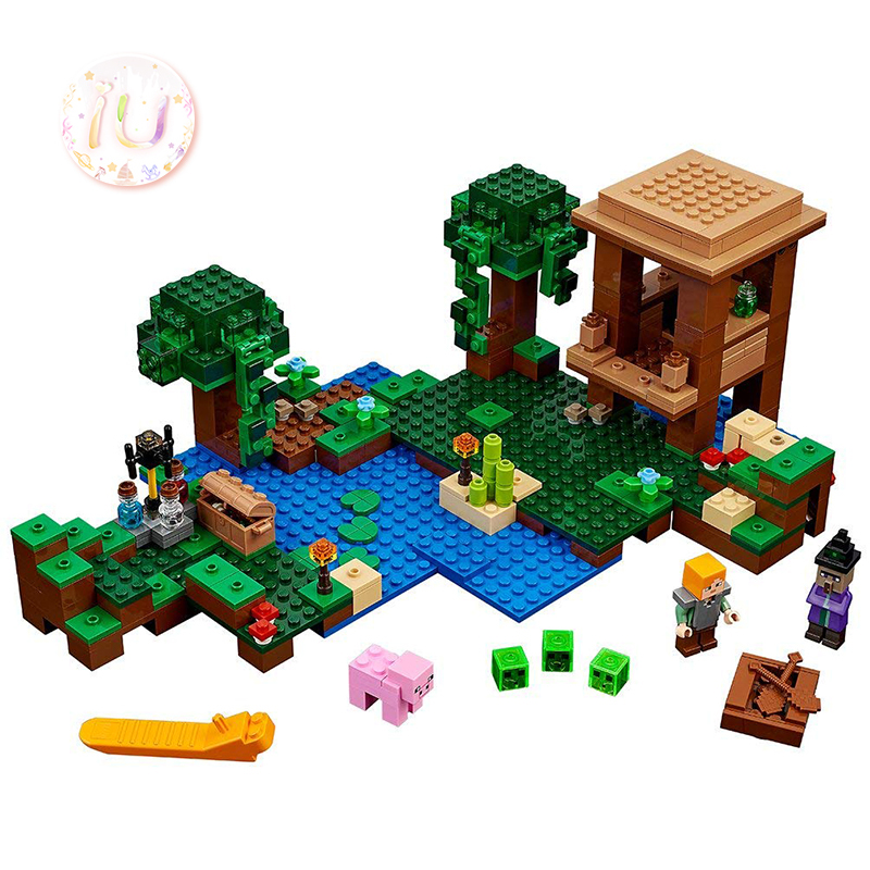 Mein Welten Serie Bela 10622 Die Hexe Hütte Set Bausteine Ziegel Geburtstag Geschenk Spielzeug Für Kinder 508 Pcs kompatibel 21133