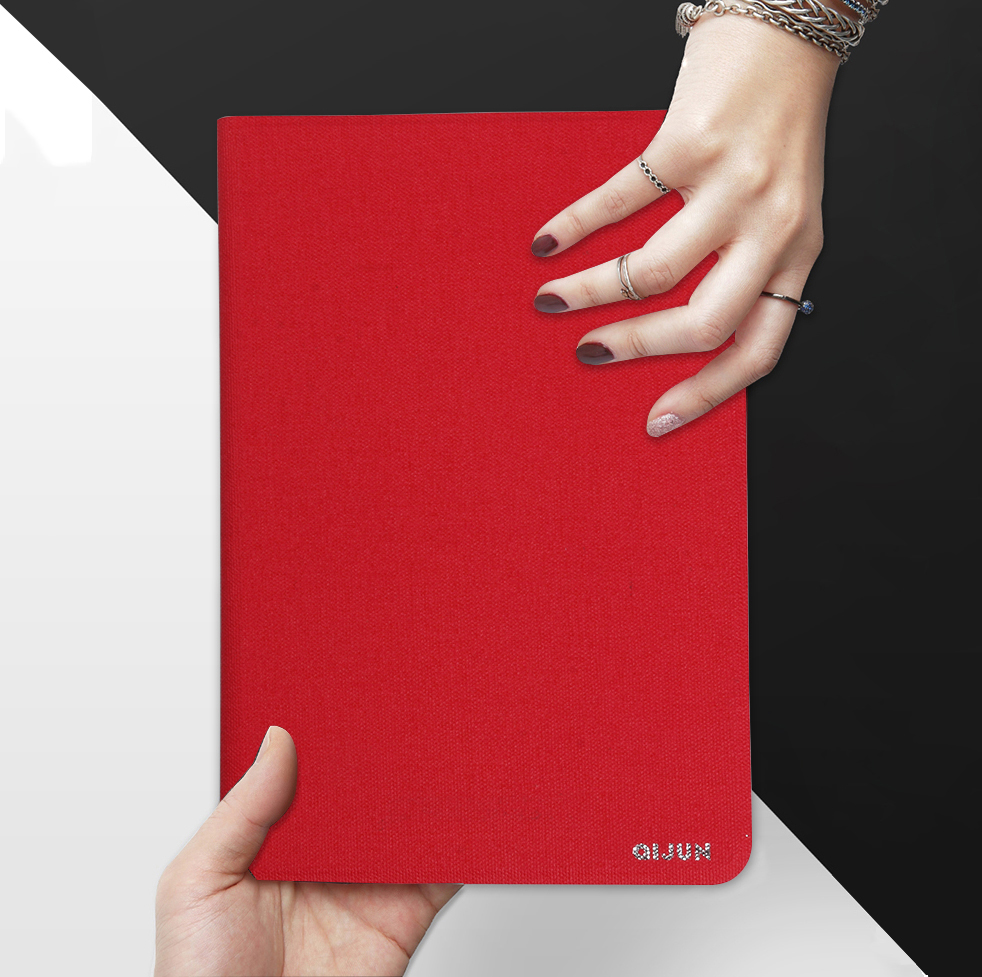 QIJUN <font><b>Case</b></font> For <font><b>Lenovo</b></font> Tab M10 10.1inch X605 <font><b>TB</b></font>-X605F Flip Tablet <font><b>Cases</b></font> For Tab M 10 10.1'' Stand Cover Soft Protective Shell image