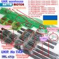 UA 3 комплекта квадратный линейный Комплект направляющих L-400/700/1000 мм и 3 шт. шариковый винт 1605-400/700/1000 мм с гайкой и 3 комплекта BK/B12 и муфта для Ч...