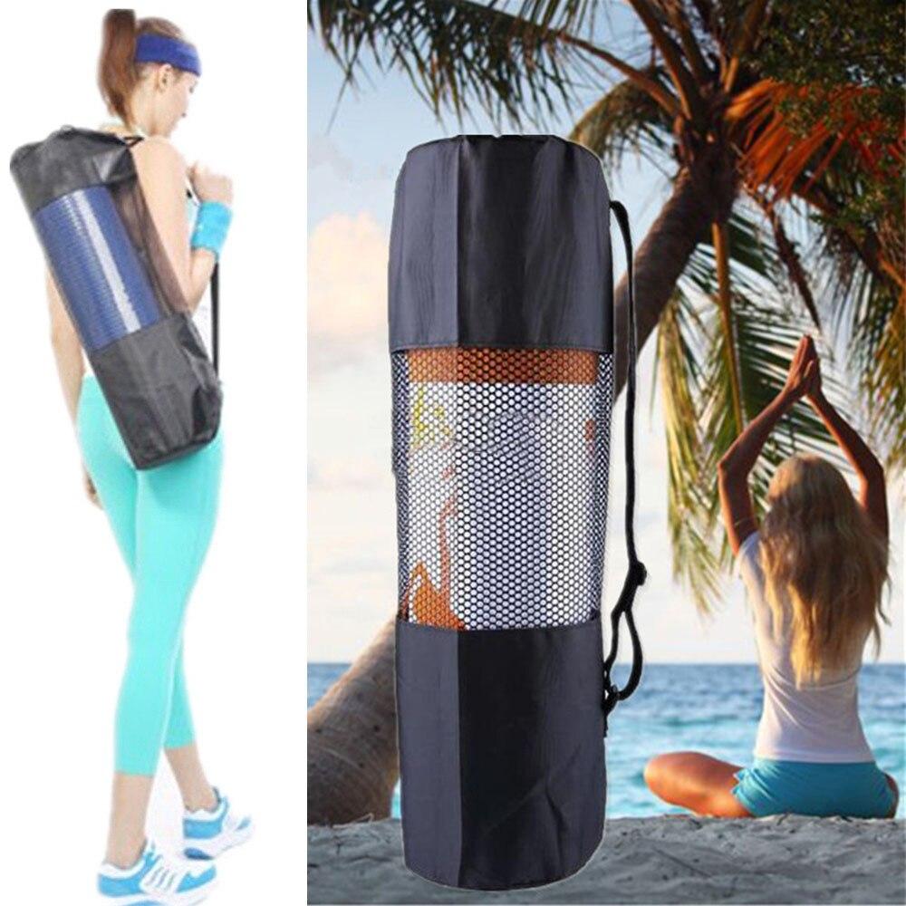 Yoga Backpack Case Bag Waterproof Yoga Pilates Waterproof Yoga Bag Gym Bag Carriers For 6-10mm (Yoga Mat Not Including) M28
