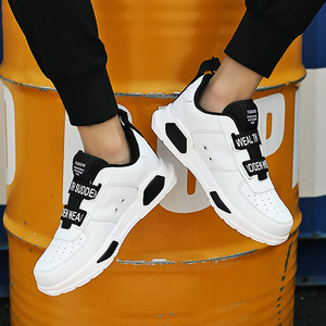 Image 3 - 남자의 Chunky 스 니 커 즈 버클 스트랩 슈퍼 스타 캐주얼 신발 소년 실행 신발 남자 신발 트레이너 vulcanized 녹색 크기 11