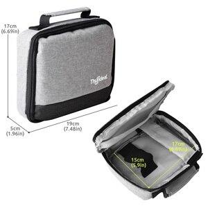 Image 4 - ThundeaL Tragbare DLP Projektor Tasche T18 Max RD606 T20 Mini DLP Projektor Hartschalenkoffer Schutzhülle Reise Tragen Weiche Tasche