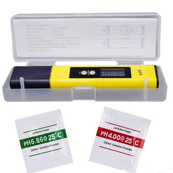 цена на 0.01 Digital PH Meter Tester Pocket Size PH Tester Large LCD Display / for Water Quality, Food, Aquarium, Pool Hydroponics /