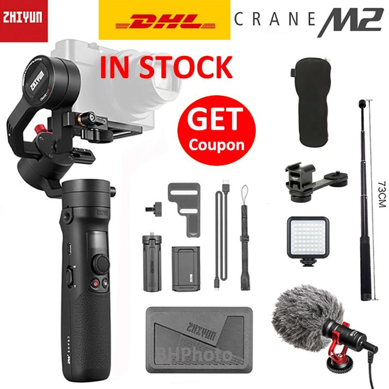 Feiyu DJI Zhiyun Crane M2 3-Axis Stabilizer Handy Kamera Gimbal Stabilisator VS
