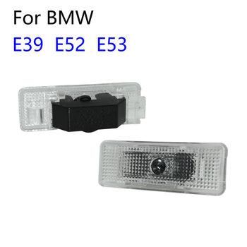2 sztuk dla BMW serii 5 E39 1996-2006 E53 X5 2002 E52 Z8 528i Led samochodów drzwiowe światło wejściowe laserowe cień duch Led Logo projektor tanie i dobre opinie Car Light CN (pochodzenie) Na to etykiety 3d carbon fiber vinyl 1inch cartoon Samochód światła Naklejki Jest dostarczana