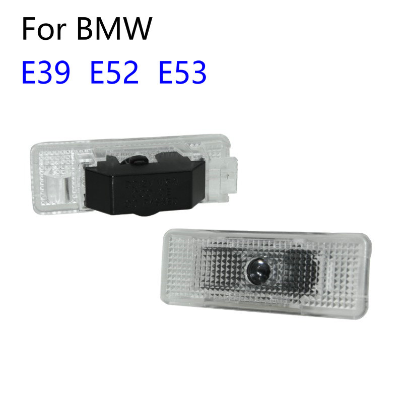 2pcs For BMW 5 series E39 1996-2006 E53 X5 2002 E52 Z8 528i Led Car Door Welcome Light Laser Ghost Shadow Projector Logo Light