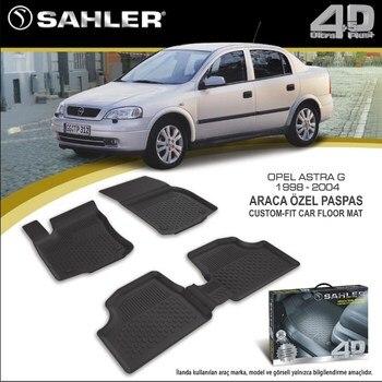 Floor Mats Liner 4.5D Molded Black Fits Opel Astra G 1998-2004 Rubber Floor Mats floor mats liner 4 5d molded black fits nissan qashqai 2014 rubber floor mats