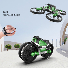 NEW Drone with camera 2.4G remote control Helicopter deformation motorcycle folding four-axis aircraft rc Drone Quadcopter toys