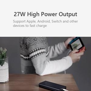 Image 2 - Xiaomi ZMI Power Bank 20000MAh QB822 3 Cổng USB Loại C 27W PD Nhanh Sạc Di Động Powerbank 20000 Bên Ngoài pin Poverbank