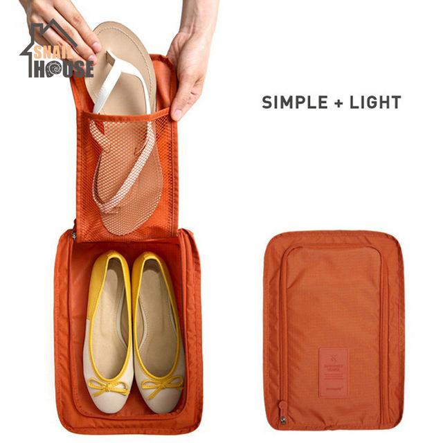 Foldable Travel Shoe Storage Portable Waterproof Shoes Bag