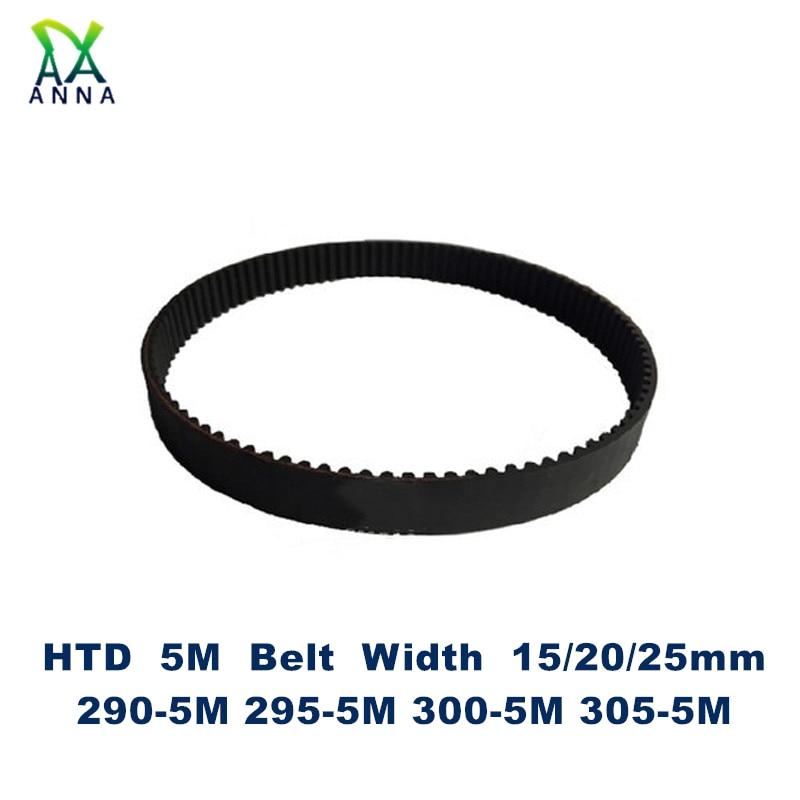 1863-3m-15 Htd Correa Dentada 1863 mm de largo de 15 mm de ancho y 3 Mm Pitch