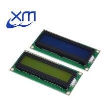 1602 16x2 модуль ЖК-дисплея HD44780 персональный контроллер синий черный свет