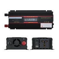 AOZBZ 12V 220V 6000W Peak Power Inverter Voltage Converter Transformer 12V/24V To 110V/220V With LCD Display Car Inverter