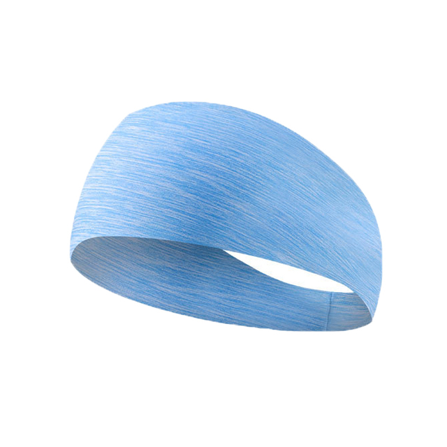 yoga hair bands Sports Hair with Lycra Breath Conducting Sweat Belt Running Fitness Yoga Dance Sweat Band 4