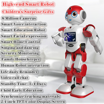 NEW 8 Million Camera High-end Smart Robot Voice Dialogue interactive toys Robot Learning Machine Education Robots toys for kids