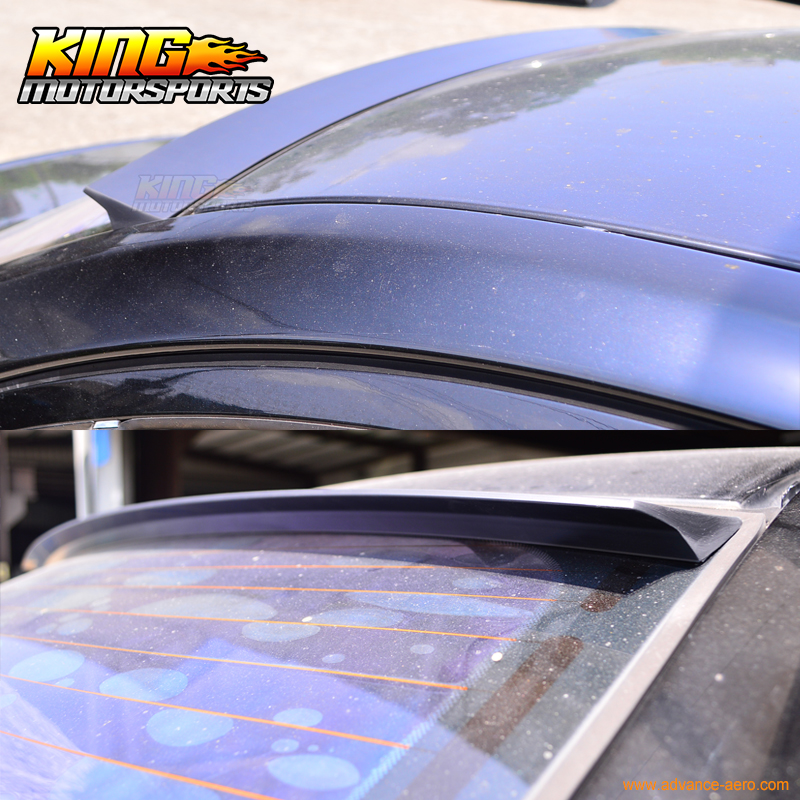 2005-2007 Cadillac STS Painted Rear Spoiler Wing 06