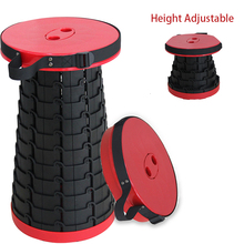 Portable Telescoping Stool Retractable Folding Garden Camping Stools Seat for Fishing Hiking Traveling Outdoor Activities