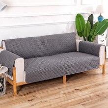 Чехол на диван, двухсторонний чехол на диван, защита мебели, противоскользящая защита для домашних животных, детей, собак, кошек