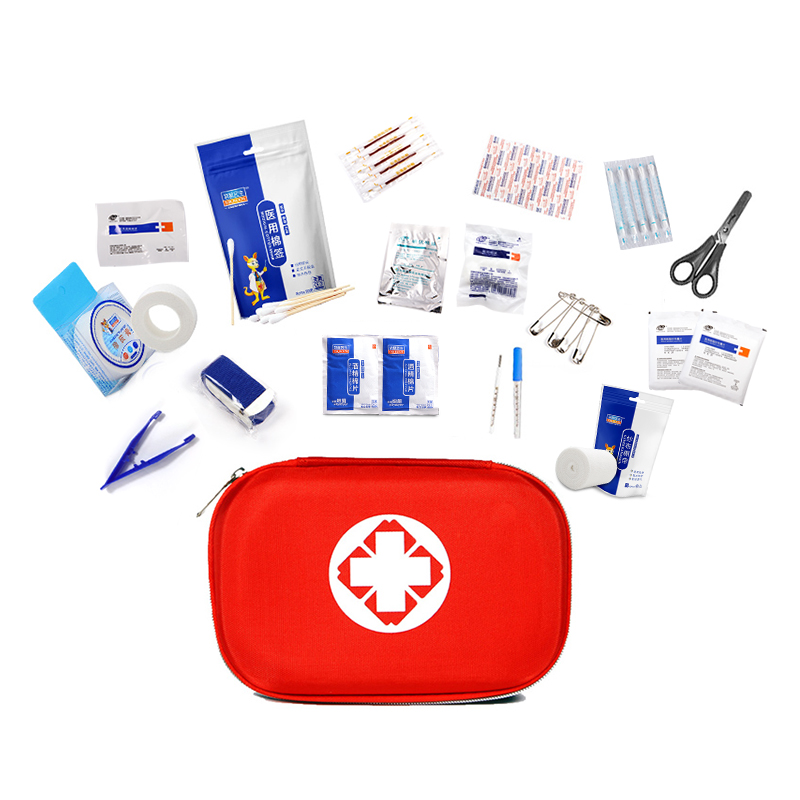 Free Shipping Safe Camping Hiking Car First Aid Kit Medical Emergency Kit Treatment Pack Outdoor Wilderness First Aid Bag