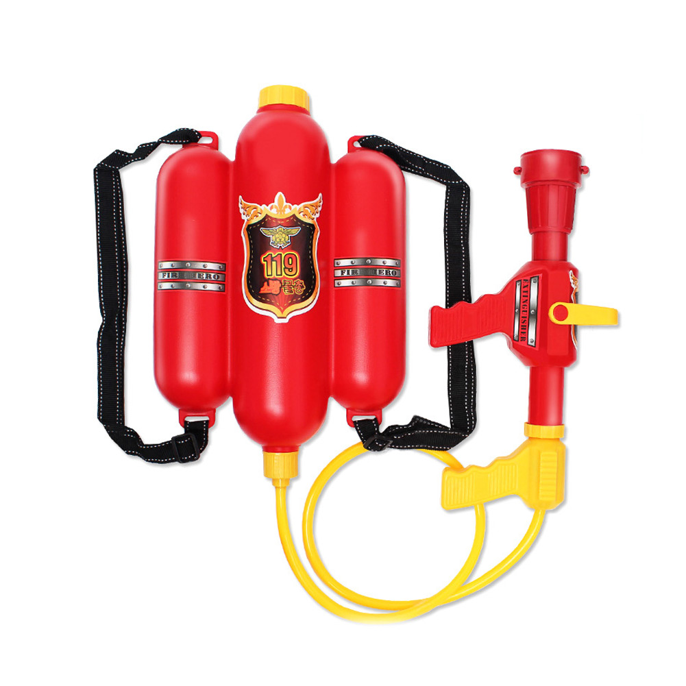 High Quality Fireman Toy Water Guns Sprayer Backpack For Children Kids Summer Toy Party Favors Gift