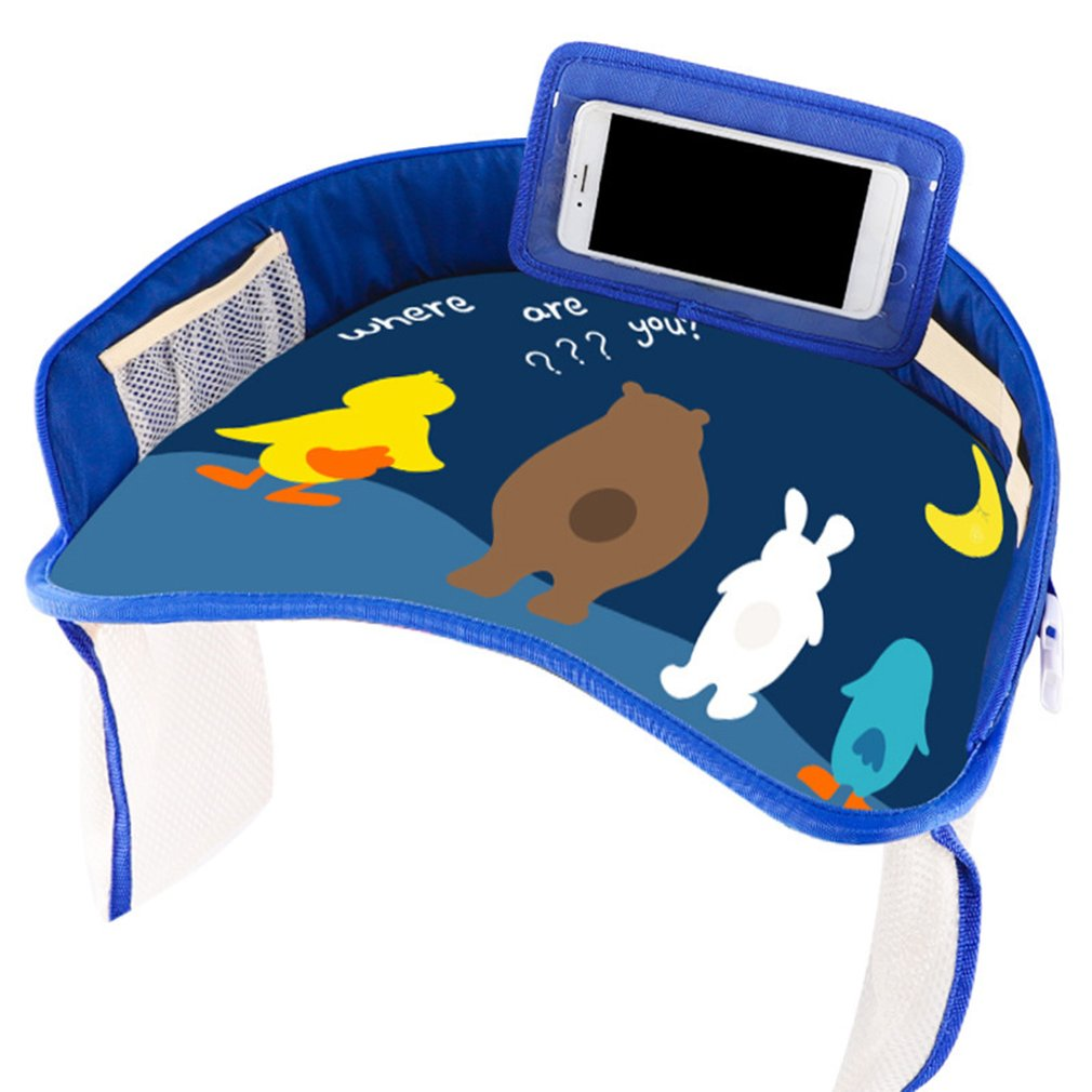 multifunctional-cartoon-car-safety-seat-tray-waterproof-stroller-holder-kids-toy-food-drink-table-portable-car-baby-seat-table