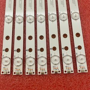 Image 3 - 5set = 70 PCS striscia di retroilluminazione a LED per 49PUS6401 49PUH6101 49PUS6561 49PUS6501 LB49016 V1_00 01N21 01N22 A TPT490U2 EQLSJA.G