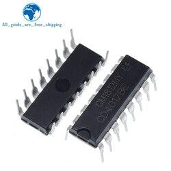 10PCS CD4017 CD4017B CD4017BE 4017 DECADE COUNTER DIVIDER IC
