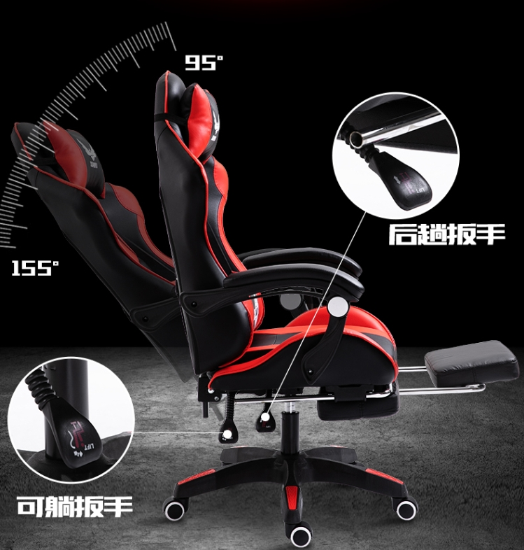 {FREE SHIPPING} Computer Chair Office Chair Game Gaming Chair Recliner Sub-athletic Seat Of Racing Car Lift Seat Factory Custom