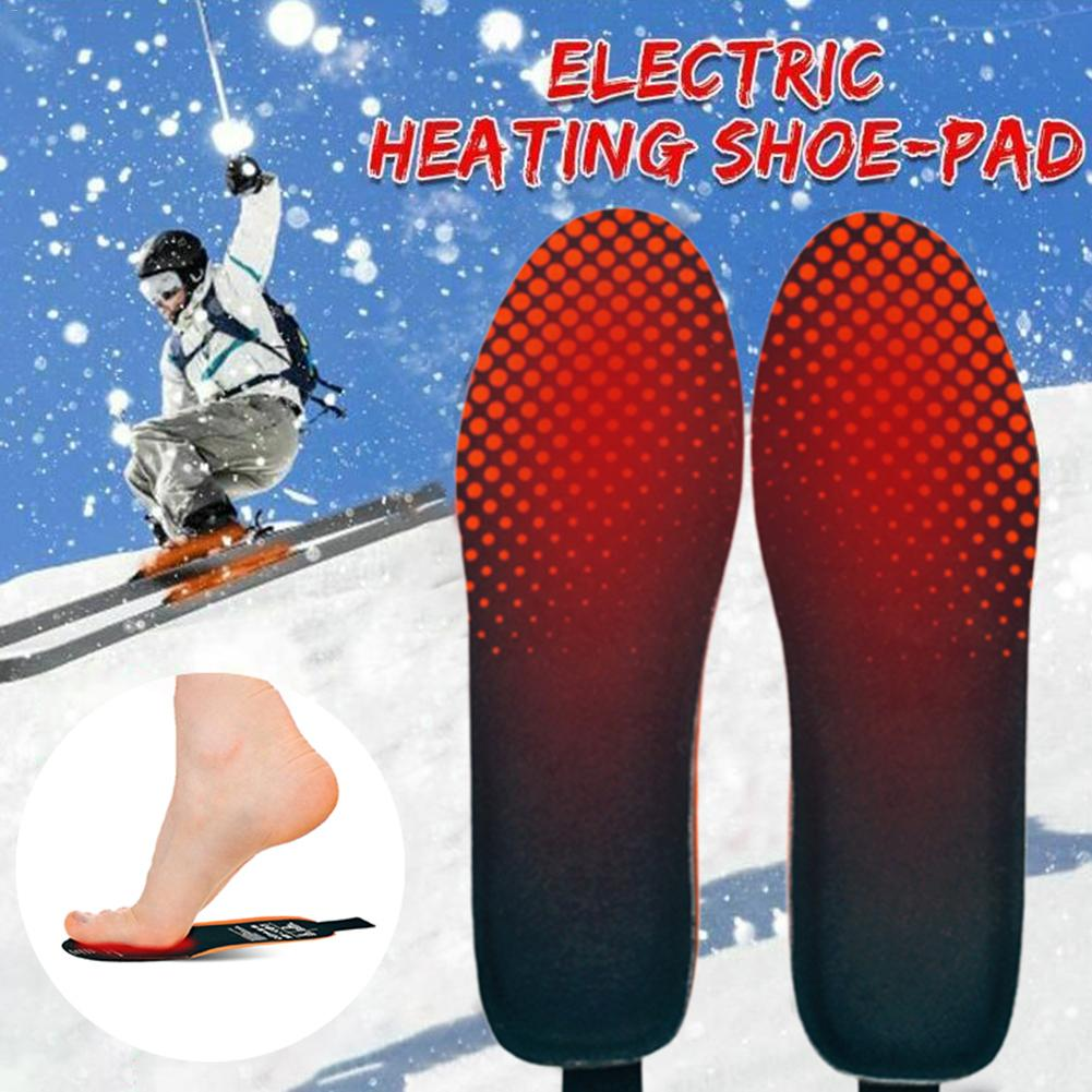 inverno térmico aquecido palmilhas manter sapatos quentes