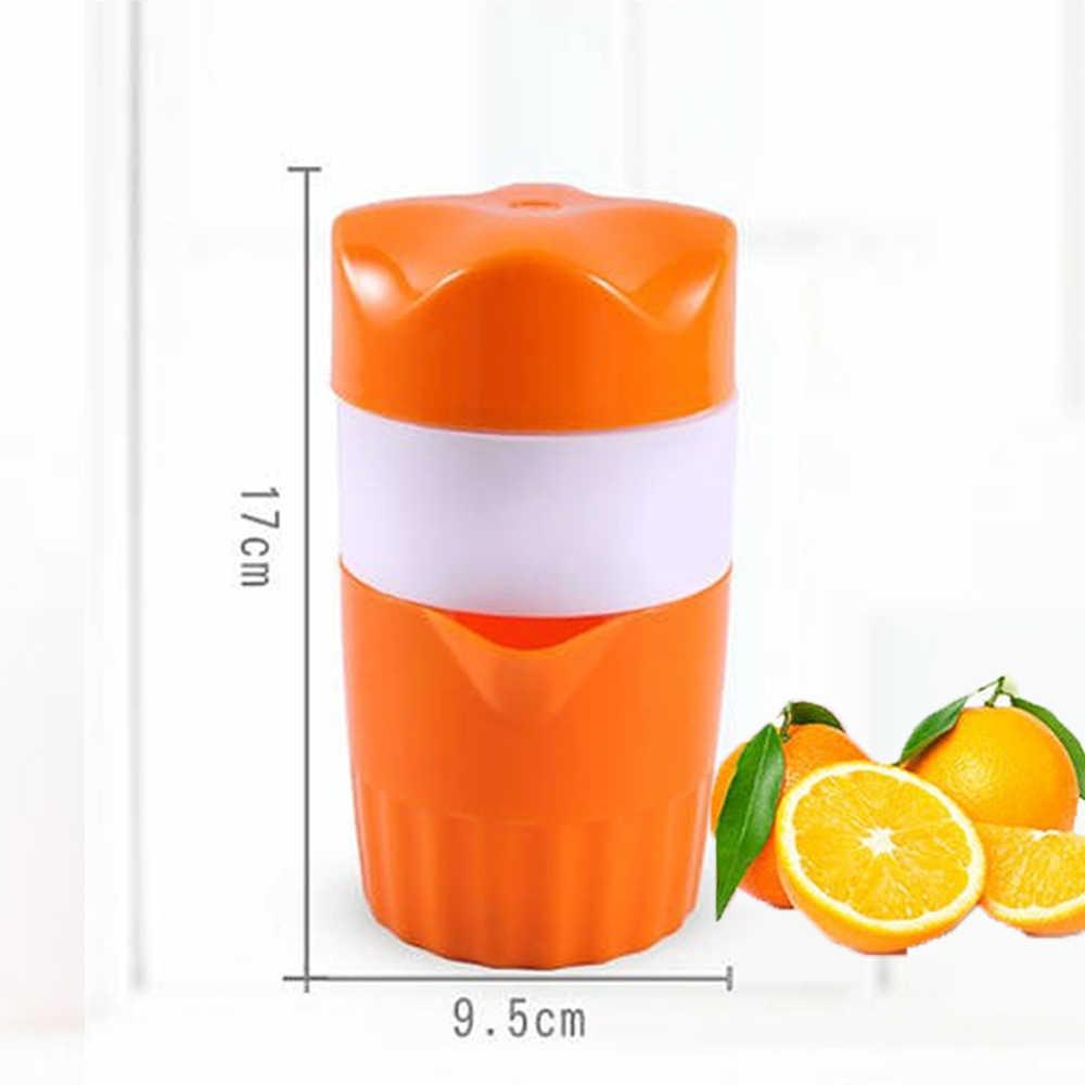 Manual portátil do agregado familiar espremedor de frutas citrinos máquina extrator mão imprensa copo 500ml cozinha liquidificadores ferramentas