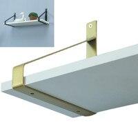 Supporto per mensola galleggiante staffa triangolare staffe per pareti Decorative treppiede creativo scaffale da parete telaio di supporto fisso 20/30cm
