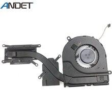 Оригинальный кулер для процессора Dell Latitude E5480, охлаждающий вентилятор, радиатор 0KKT6M KKT6M