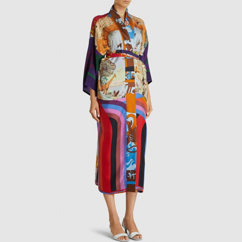 African Dresses For Women 2020 New Arrivals African Dashiki Flowers Print Dress Long Sleeve Casual Dresses Africa Clothing
