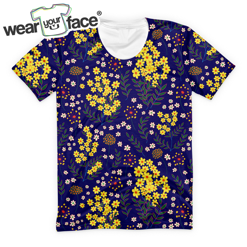 Short Sleeve T Shirt Happy Mushroom Mustache Baby Girl Toddlers