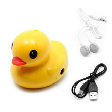 цена на Cute Duck USB Mini Digital MP3 Music Player Support 32GB Micro SD TF Card 634A