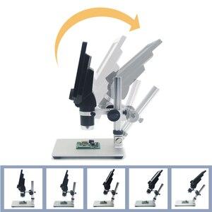 Image 3 - KKMOON G1200 הדיגיטלי אלקטרוני LCD רציף זום וידאו מיקרוסקופ נייד 12MP הלחמה מיקרוסקופ עם 8 נוריות