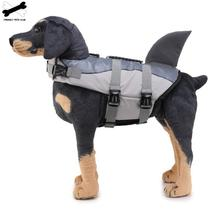 Swimming Dog Vest Life Jacket Pet Dog Clothes Shark Mermaid Foldable Safe Vest For Dogs Cat Large Medium Swimsuit