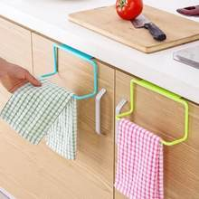Towel Rack Bar Hanging Holder Rail Organizer Bathroom Kitchen Cabinet Cupboard Hanger Shelf For Bathroom Kitchen Tool Accessary(China)