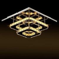 Moderne kristall führte decke lichter schlafzimmer wohnzimmer plafond lampe lampen kristal design leuchten Glanz Luminarias-in Deckenleuchten aus Licht & Beleuchtung bei