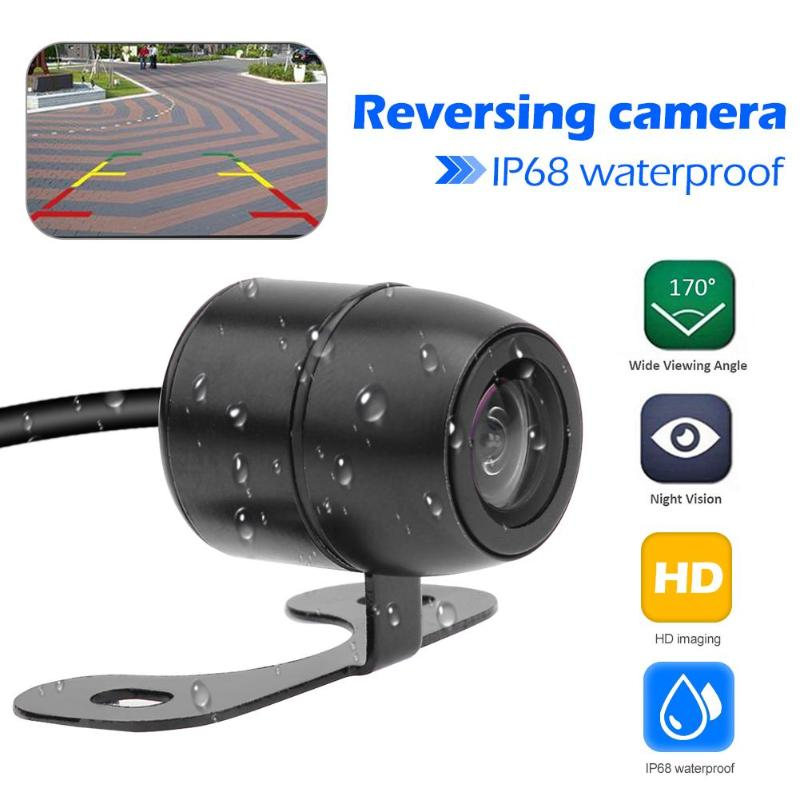 Durable Rear View Camera Multi-function Car Rear View Camera Universal IP68 Waterproof LED Night Vision Parking Camera