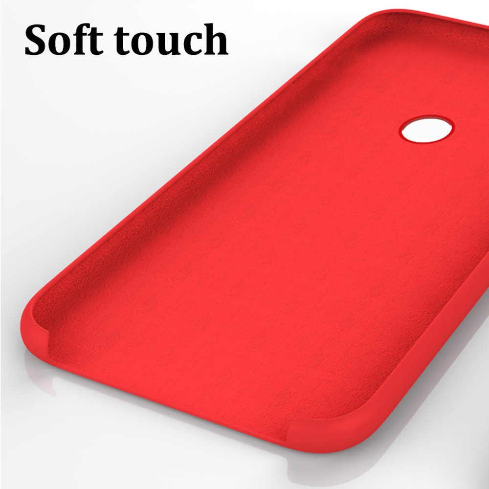 Capa de silicone oficial para xiaomi, capinha protetora com estilo para modelos xiaomi redmi note 7 8 k20 pro 8 8a mi 8 9 se 9t capa pro cc9 cc9e 8 9 a3 lite a2 6x mix 2 3 2s