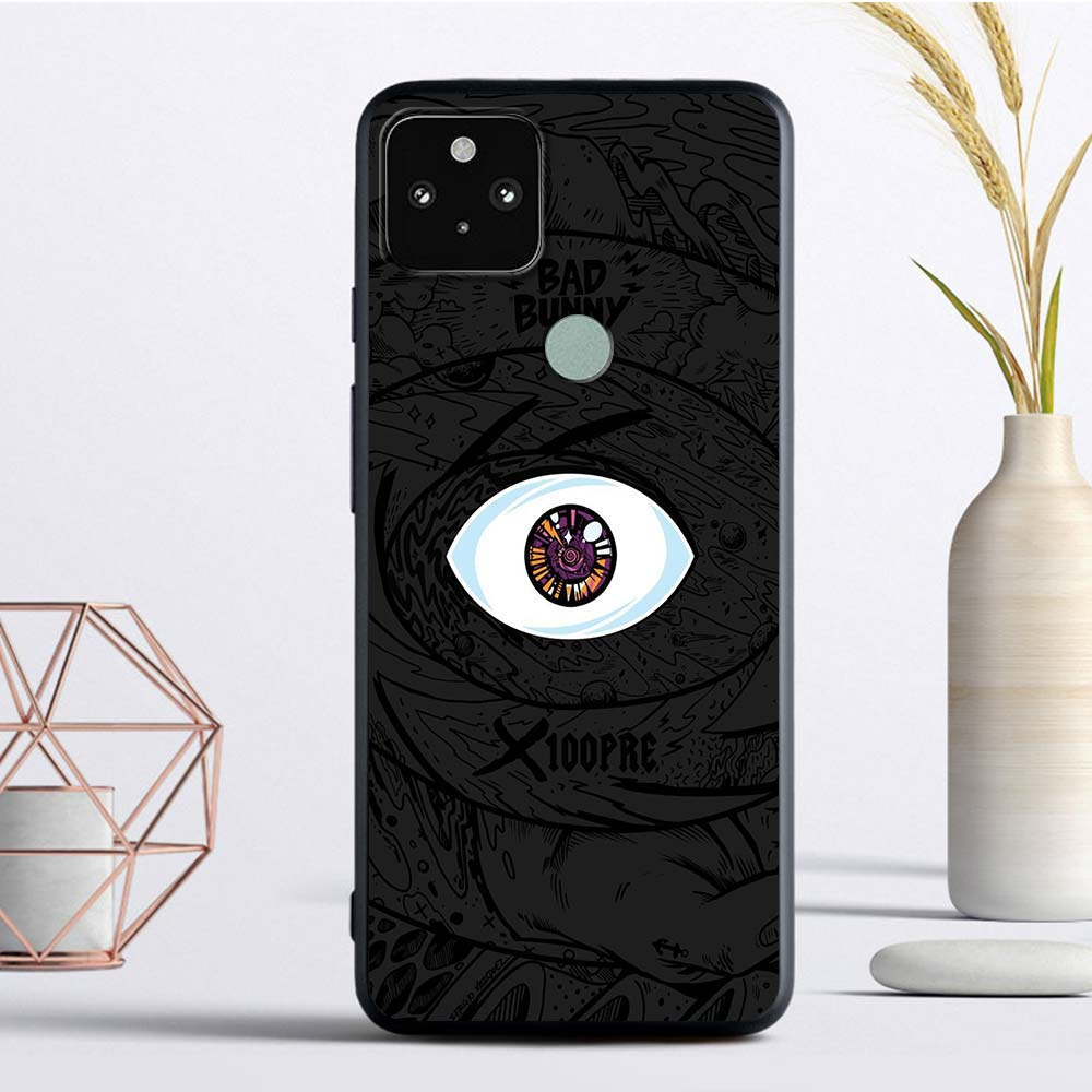 Anime Bad Bunny Phone Case For Google Pixel 4 XL 4A 4G 4A 5G Funda Pixel 5 Soft TPU Phone Cover Luxury Coque Capa Shell Bag Cell