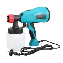 800ml Detachable High Voltage Electric Spray Gun Latex Paint Spraying Machine Wall Fence Car Home Painting Sprayer Handheld high pressure removable electric spray machine paint sprayer for painting car wood furniture with sprayer cup
