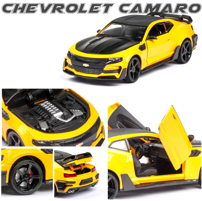 Chevrolet camaro 1/24 diecasts car model & toy vehicles continental collection car toys for boy children gift brinquedos