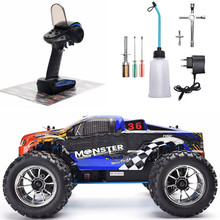 HSP RC Car 1:10 Scale Two Speed Off Road Monster Truck Nitro Gas Power 4wd Remote Control Car High Speed Hobby Racing RC Vehicle