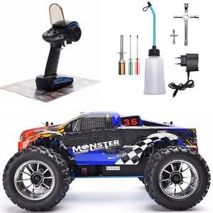 HSP Радиоуправляемый автомобиль масштаб 1:10, двухскоростной внедорожник, монстр-Трак, нитро-газ, мощность 4wd, автомобиль с дистанционным управ...