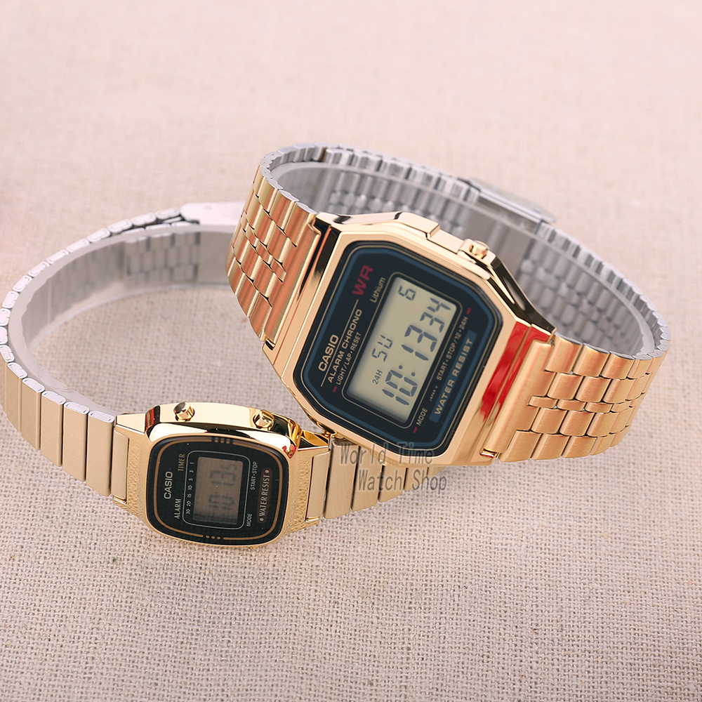 Image 4 - Casio Watch men clock women Couple Watch set top luxury Quartz ladies Wrist watch Sport Waterproof LED relogio Digita men watch-in Lover's Watches from Watches