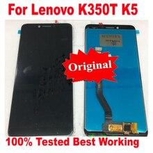 100% оригинальный дигитайзер LTPro с полным сенсорным экраном, ЖК-дисплей в сборе для Lenovo K350T K5, стеклянный сенсор, запчасти для панели телефона